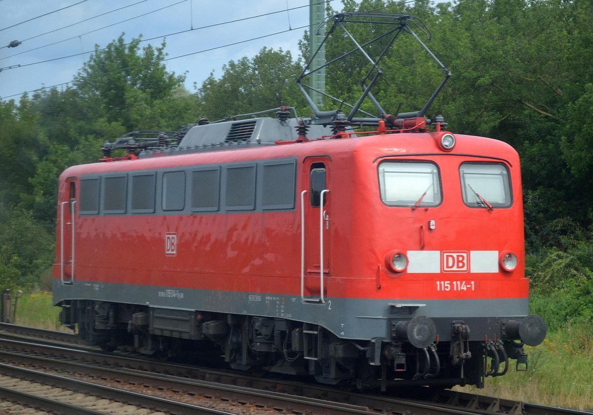 DB-Baureihen 114.1 und 114.3