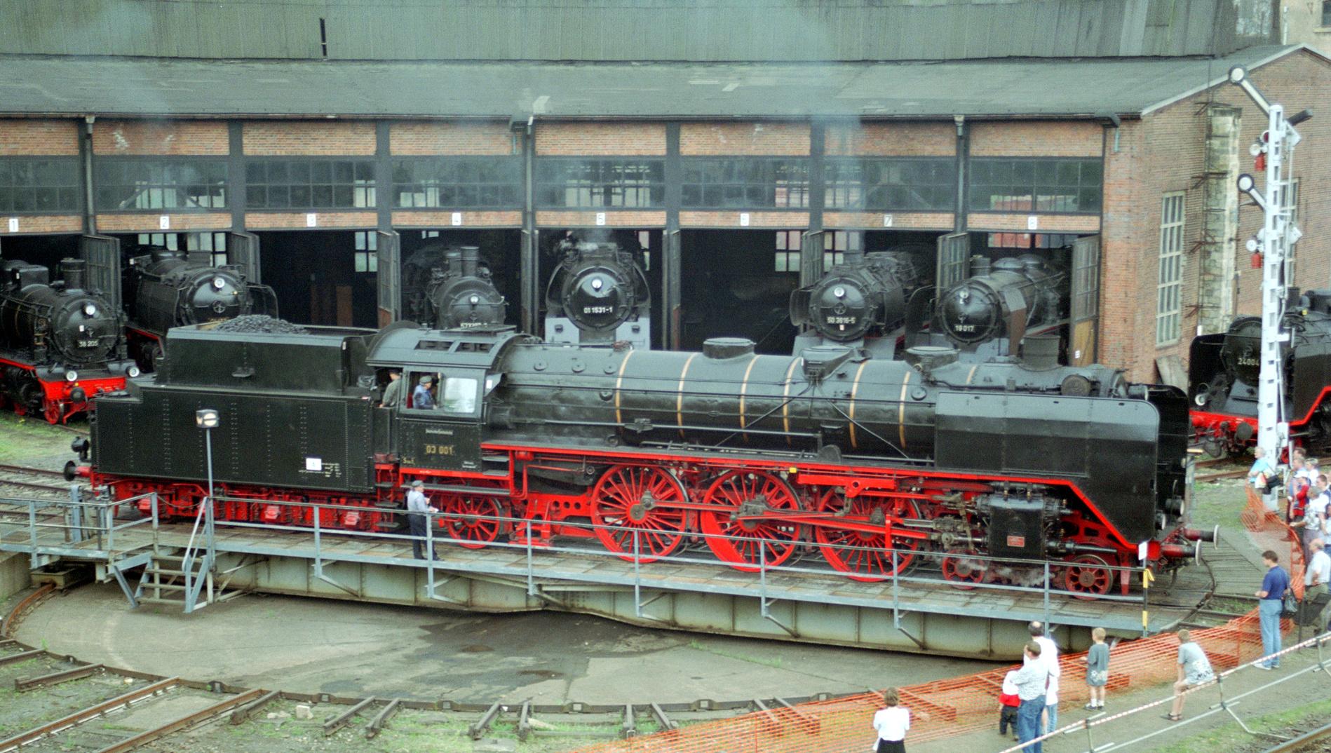 Dampflokomotive der Baureihe 03